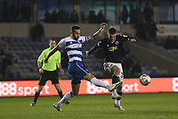 Football - 2020 / 2021 Sky Bet Championship - Millwall vs Queens Park Rangers - The Den<br /> <br /> Troy Parrott of Millwall battles for possession with Geoff Cameron of Queens Park Rangers.<br /> <br /> COLORSPORT/ASHLEY WESTERN