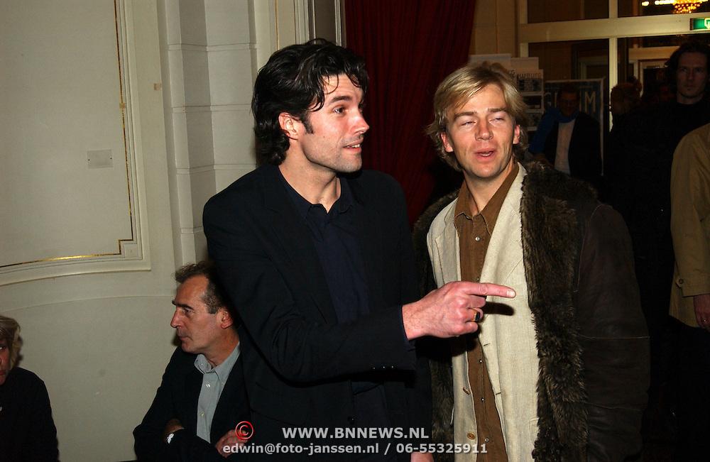 Premiere Grimm, Daniel Boissevain en Anthonie Kamerling