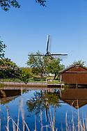 07-05-2020: Wolvega, Weststellingwerf - Botenstallingen langs de Noordwoolder Vaort bij molen De Gooijer