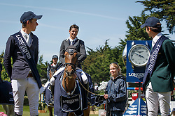 Guerdat Steve, (SUI) <br /> Grand Prix Longines<br /> Longines Jumping International de La Baule 2015<br /> © Hippo Foto - Dirk Caremans<br /> 17/05/15