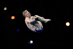 Scotland's Lucas Thomson in action in the Men's 10m Platform Final at the Optus Aquatic Centre during day ten of the 2018 Commonwealth Games in the Gold Coast, Australia.