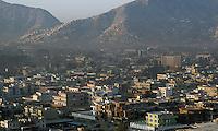 Utsikt over Kabul, view over Kabul