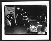 Arriving Feathers Ball. Hammersmith Palais. London. December 1980