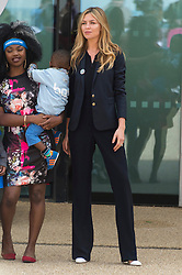 © Licensed to London News Pictures. 16/05/2016. ABBEY CLANCY attends the launch of their Heads Together campaign to eliminate stigma on mental health London, UK. Photo credit: Ray Tang/LNP