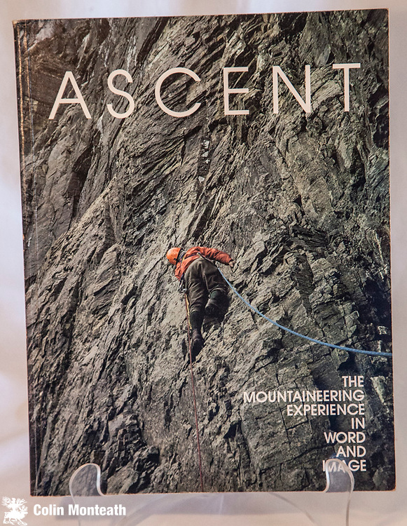 ASCENT - THE MOUNTAINEERING EXPERIENCE IN WORD AND IMAGE, Sierra Club, Steck & Roper eds, 1975, 126 page large-format softbound - $NZ30
