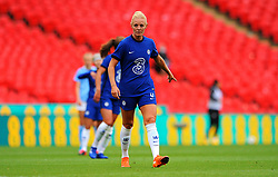 Sophie Ingle of Chelsea Women gestures- Mandatory by-line: Nizaam Jones/JMP - 29/08/2020 - FOOTBALL - Wembley Stadium - London, England - Chelsea v Manchester City - FA Women's Community Shield