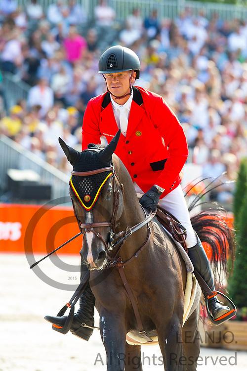 Jerome Guery - Quel Homme de Hus<br /> FEI European Championships 2019<br /> © DigiShots