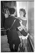Hon Laura Sandies and Adam Azinou, Piers Gaveston Ball, Park Lane Hotel 13.05.83© Copyright Photograph by Dafydd Jones 66 Stockwell Park Rd. London SW9 0DA Tel 020 7733 0108 www.dafjones.com