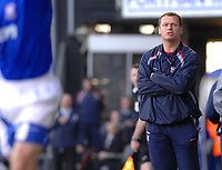 Photo: Ashley Pickering.<br />Ipswich Town v Southend United. Coca Cola Championship. 10/03/2007.<br />Ipswich manager Jim Magilton watches play