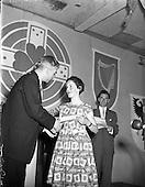 1958 – 12/08 Gael Linn Singing Competition, Liam Devally judges