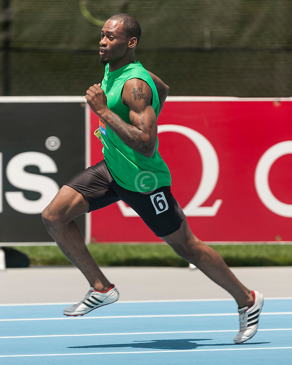 men's 400 meters, B race, adidas Grand Prix Diamond League track and field meet