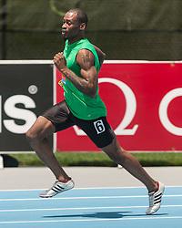 men's 400 meters, B race, adidas Grand Prix Diamond League track and field meet