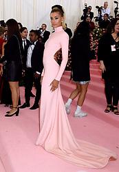 Hailey Rhode Bieber attending the Metropolitan Museum of Art Costume Institute Benefit Gala 2019 in New York, USA.