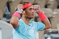 Rafael NADAL (ESP) during the Roland Garros 2020, Grand Slam tennis tournament, on October 6, 2020 at Roland Garros stadium in Paris, France - Photo Stephane Allaman / ProSportsImages / DPPI