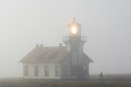 Point Cabrillo Lighthouse; Point Cabrillo Light Station State Historic Park; Mendocino County; California
