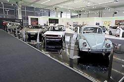 05.04.2016, Zagreb, CRO, Zagreb Auto Show, im Bild Volkswagen Oldtimer // Press day at Zagreb fair before official opening of Zagreb Auto Show at Zagreb, Croatia on 2016/04/05. EXPA Pictures © 2016, PhotoCredit: EXPA/ Pixsell/ Dalibor Urukalovic<br /> <br /> *****ATTENTION - for AUT, SLO, SUI, SWE, ITA, FRA only*****