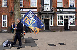 File photo dated 19-05-2021 of member of the Tottenham Hotspur Supporters' Trust. The trust has gone public with questions for the club's board after its request for a meeting was rejected last week. Issue date: Wednesday October 13, 2021.