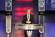 February 8, 2013: NASCAR Hall of Fame induction ceremony. Carl Edwards