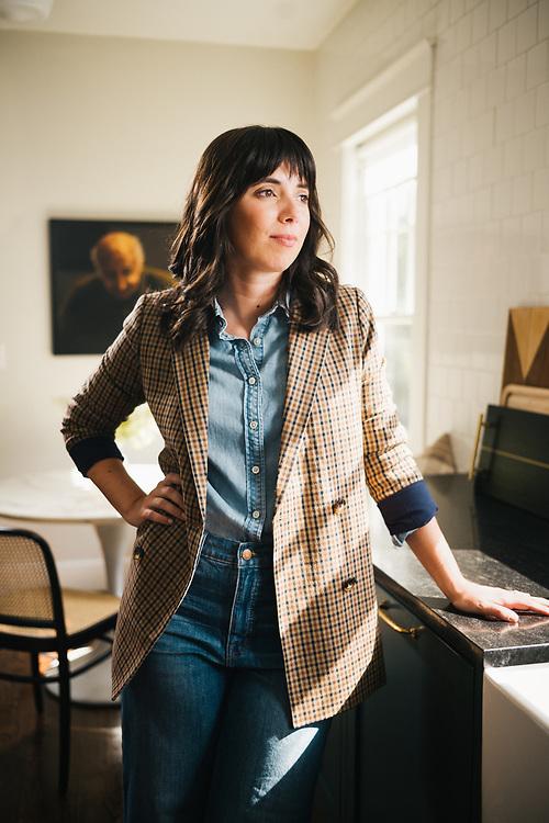 BIRMINGHAM, AL – AUGUST 6, 2019: Portrait of Interior Designer Ellen Godfrey