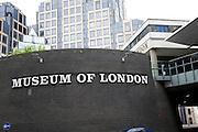 Museum of London, Barbican, London, England