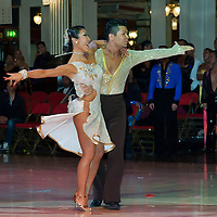 Toshi Nireta and Yoko Nireta from Japan perform their dancce during the Professional Rising Stars Latin-american competition of the Blacpool Danca Festival that is the most famous event among dance competiptions held in Blackpool, United Kingdom on May 27, 2011. ATTILA VOLGYI