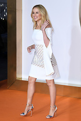 Kylie Minogue attending the Kingsman: The Golden Circle World Premiere held at Odeon and Cineworld Cinemas, Leicester Square, London. Picture date: Monday 18th September 2017. Photo credit should read: Doug Peters/Empics Entertainment