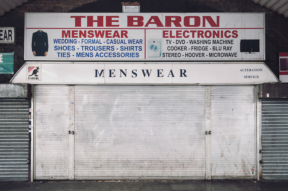 The Baron. <br /> 23 Atlantic Road.<br /> <br /> The shop open 35 years ago and the owner Riccardo Festa is the 2nd generation.