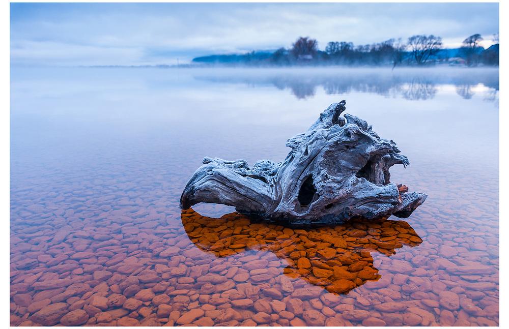 Lake Wakatipu, Glenorchy, Otago.