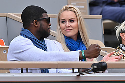 Skier Lindsey Vonn and Ice hockey player Pernell Karl Subban attend the 2019 French Tennis Open - Day Three at Roland Garros on May 28, 2019 in Paris, France. Photo by Laurent Zabulon/ABACAPRESS.COM