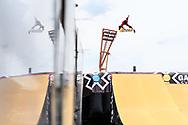 Toby Ryan during Skate Big Air Finals at the 2018 X Games Sydney in Sydney, Australia. ©Brett Wilhelm/ESPN
