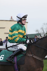 ©Licensed to London News Pictures. 07/11/2013<br /> Towcester Racecourse, Northamptonshire. AP McCoy joins the course before he wins the magic 4000 at Towcester Racecourse beating Jamie Moore on Kris Spin in the 3:10 Weatherbys Novice hurdle race.<br /> Photo credit: Steven Prouse/ LNP