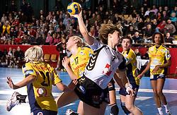 Maryna Vergeliuk of Krim at handball match of Round 5 of Champions League between RK Krim Mercator and Metz Handball, France, on January 9, 2010 in Kodeljevo, Ljubljana, Slovenia. (Photo by Vid Ponikvar / Sportida)