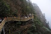 1,500-meter-high Plank Road On Mount Mingyue
