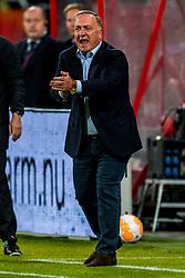 27-09-2018 NED: FC Utrecht - MVV Maastricht, Utrecht<br /> First round Dutch Cup stadium Nieuw Galgenwaard / Coach Dick Advocaat of Utrecht