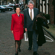 Mattheus Passion 1998 Naarden, Wim Kok met vrouw Rita Roukema