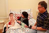 al and franni babysitting Al Franken, in Washington, DC
