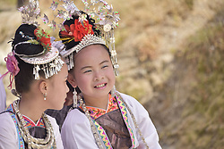 August 2, 2017 - China - Guizhou, CHINA- August 2 (EDITORIAL USE ONLY. CHINA OUT)..Dong people celebrate the annual traditional Xinmi Festival in Congjiang, southwest China's Guizhou Province, August 2nd, 2017. (Credit Image: © SIPA Asia via ZUMA Wire)
