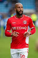 Charlton Athletic forward Josh Parker (10) during the EFL Sky Bet League 1 match between Gillingham and Charlton Athletic at the MEMS Priestfield Stadium, Gillingham, England on 27 April 2019.