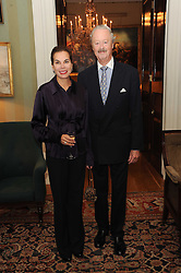 A party to promote the exclusive Puntacana Resort & Club - the Caribbean's Premier Golf & Beach Resort Destination, was held at Spencer House, London on 13th May 2010.<br /> <br /> Picture shows:- The DUKE & DUCHESS OF MARLBOROUGH