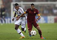 AS Roma versus Bayern Munich Champions League