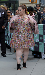 September 20, 2017 - New York, New York, United States - Tess Holliday made an appearance at Build Series on September 20 2017 in New York City  (Credit Image: © Curtis Means/Ace Pictures via ZUMA Press)