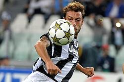 02-10-2012 VOETBAL: UEFA CL JUVENTUS - SHAKHTAR DONETSK: TURIJN<br /> Claudio Marchisio Juventus<br /> ***NETHERLANDS ONLY***<br /> ©2012-FotoHoogendoorn.nl-Federico Tardito