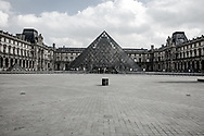 The city of Paris, during the emergency COVID19 appears as a gost city. People have to #stayhome and no tourists are visiting the historic part of the city.