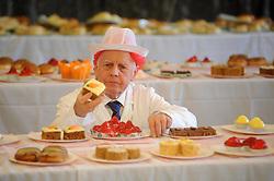 Scottish Bakery Awards_Dunfermline Blcc_17-04-2019<br /> <br /> Judging the cakes<br /> <br /> (c) David Wardle   Edinburgh Elite media
