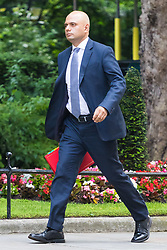 London, June 20th 2017. Communities and Local Government Secretary Sajid Javid attends the weekly cabinet meeting at 10 Downing Street in London.