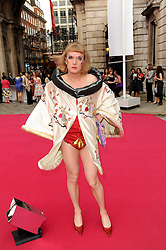 GRAYSON PERRY at the Royal Academy of Arts Summer Party held at Burlington House, Piccadilly, London on 9th June 2010.