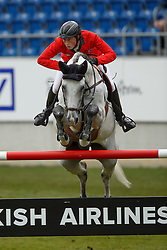 Fuchs Martin, (SUI), Clooney<br /> Team and 1th individual qualifier <br /> FEI European Championships - Aachen 2015<br /> © Hippo Foto - Dirk Caremans<br /> 19/08/15
