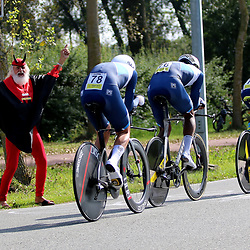 BRUGGE (BEL): CYCLING: SEPTEMBER 22th: <br /> Worlds Team Relay