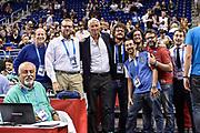 DESCRIZIONE : Berlino Berlin Eurobasket 2015 Group B Germany Germania - Italia Italy<br /> GIOCATORE : Giovanni Malagò Alessandro Pediconi<br /> CATEGORIA : Stampa Ritratto Before Pregame<br /> SQUADRA : Italia Italy<br /> EVENTO : Eurobasket 2015 Group B<br /> GARA : Germany Italy - Germania Italia<br /> DATA : 09/09/2015<br /> SPORT : Pallacanestro<br /> AUTORE : Agenzia Ciamillo-Castoria/M.Longo