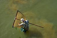 France, Vendée (85), Saint-Jean-de-Monts, pêche à pied // France, Vendée, Saint-Jean-de-Monts, fishing